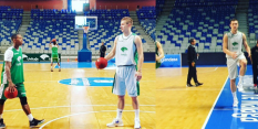 FOTO: Alen Omić že trenira z novo ekipo